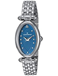 Claude Bernard Women's 'Mini Collection' Swiss Quartz Stainless Steel Dress Watch, Color:Silver-Toned (Model: 20210 3M BUPIN)