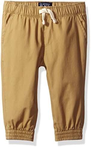 The Children's Place Baby-Boys' Li'l Guy's Basic Jogger Pants