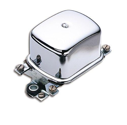 ACCEL 201107C Chrome Electro Mechanical Voltage Regulator