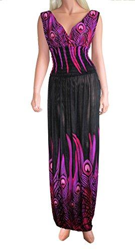 Tamari Beachwear Damen Kleid Violettnbsp;mit Schwarz x8CUsaK3Ni ...