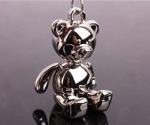 ESMPRO Creative DIY Manual Cartoon Teddy Bear Key Chain Keychian Keychians