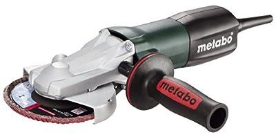Metabo WEF9-125 Flat Head Angle Grinder, 4-1/2-Inch-5-Inch, Green/Black