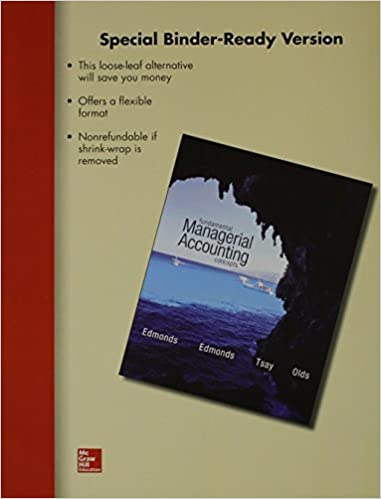 Fundamental Managerial Accounting Concepts 7th Edition Pdf