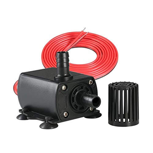 SAYEI Submersible Water Pump Dc 12V Mini Brushless Water Pump Water Cooling Pump Water Circulation for Fountain Pool, Garden, Pool, Garden, Pond, Fish Tank, Aquarium, Hydroponic