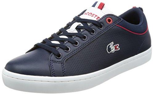 Lacoste Chaussures De Sport Pour Les Hommes 34cam0064 Straightset 003 Nvy