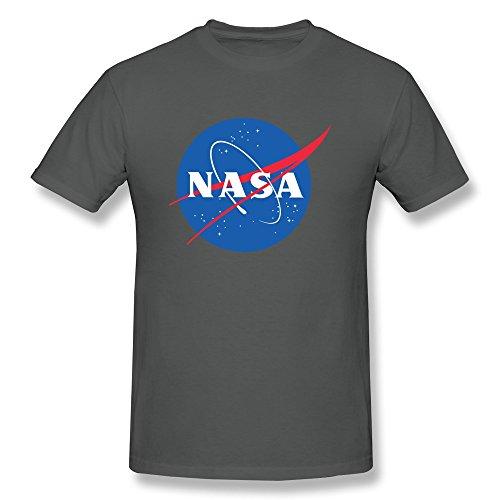 - NASA Logo Adult T-shirt - Black