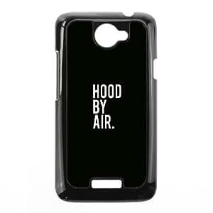 HTC One X Cell Phone Case Black Hood By Air Logo Minimal P5V9EK