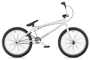 "DK Aura 2011 BMX Bike, 20"" White with white rims"