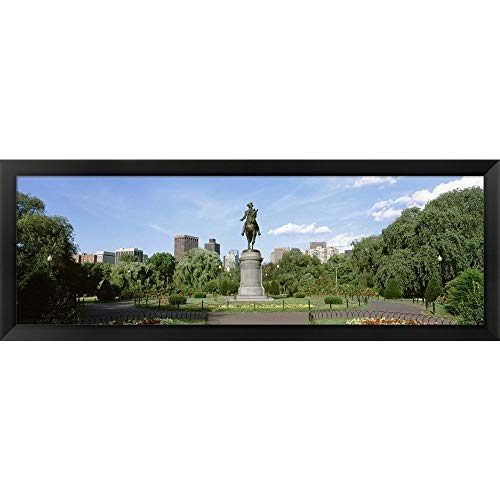 Photos Boston Public Garden - Metaverse ' Boston Public Gardens, Boston, Massachusetts' Framed Panoramic Photo