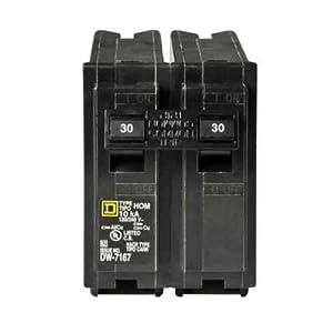 Your One Source HOM230CP 30-Amp Weatherproof Plug-On Circuit Breaker