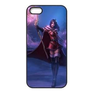 iPhone 5 5s Cell Phone Case Black LeBlanc League of Legends 005 KYS1148142KSL