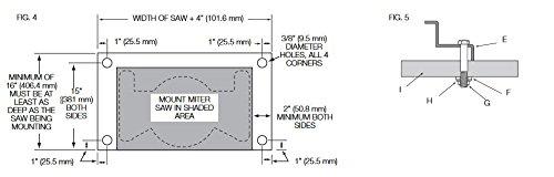 dewalt miter saw stand instructions