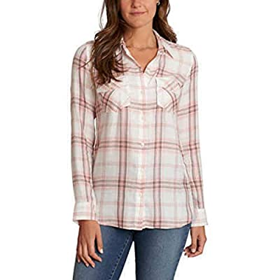 Jessica Simpson Women's Petunia Button-Up Shirt