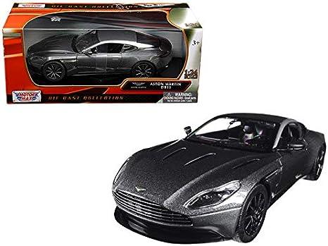 Amazon Com Motormax Aston Martin Db11 Silver 1 24 Diecast Model Car Home Kitchen
