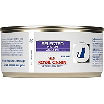 Royal Canin Hypoallergenic Rabbit and Pea Cat Food 24 5.9 oz cans