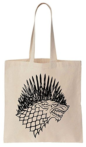 House Stark Iron Throne Sigil Sacchetto di cotone tela di canapa