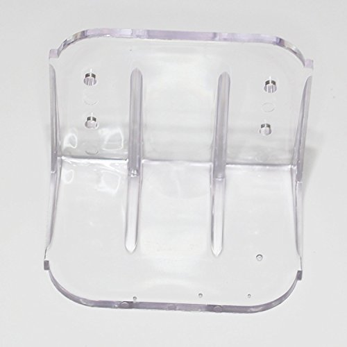 Plastic Roof Ice Guard Jumbo Snow Guard Prevent Sliding Snow Ice Buildup 10 pack by JSP Manufacturing