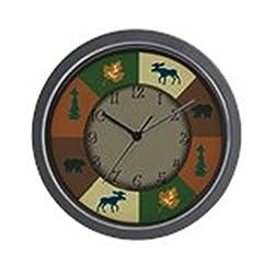 CafePress Bear Moose Unique Decorative 10 Wall Clock