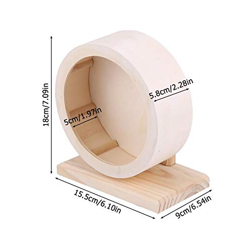Best Quality - Toys - Small Pets Guinea Pig Hamster Wheel Running Toy Sports Round Wheel Hamster Cage Accessories Hamster Exercise Wheel - by VietFA - 1 PCs by VietFA