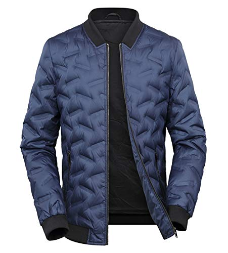 Surdimensionné Hommes Blousons Bleu Outdoor Jacket Manteau Hiver Studio Parka Padded Doudoune Sk Outwear PZqAA5