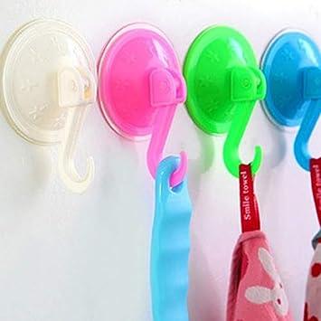 placard Taille unique 1 couleur salle de bain XQxiqi689sy Lot de 2 crochets muraux /à ventouse pour cuisine