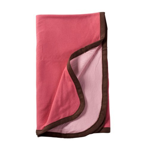 - Baby Soy All-Natural Reversible Blanket (Blossom)