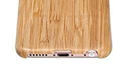 iPhone 6 / iPhone 6s Case, PITAKA [Aramidcore Wood Series] Slim Matte Natural Bamboo Case for iPhone 6 / iPhone 6s (4.7 Inch) - Bamboo