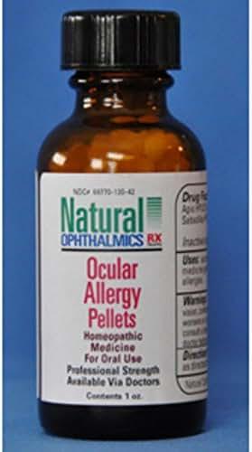 Natural Ophthalmics Ocular Allergy Pellets, 1 Ounce