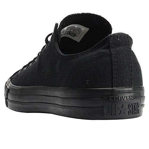 Converse Unisex Chuck Taylor All Star Low Top Black Monochrome Sneakers - 9 D(M) US by Converse (Image #11)
