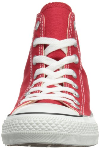and Sneakers High Top Classic Uppers and Unisex Durable Red in Star Converse All Color Style Chuck Taylor Casual Canvas 86wFp