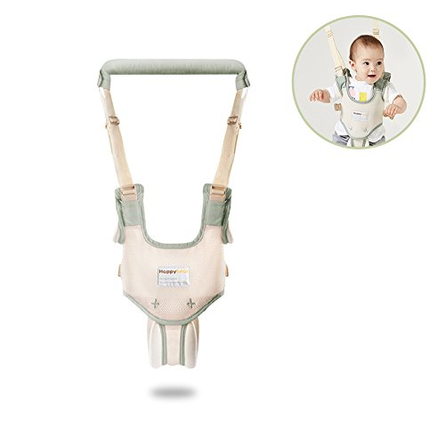 HaloVa Baby Walker, Walk-learning Handheld Harness Kid Keeper, Safety Anti-lost Fall-protecting Helper for Toddlers Kids Boys and Girls 10-36 months old, Green by HaloVa