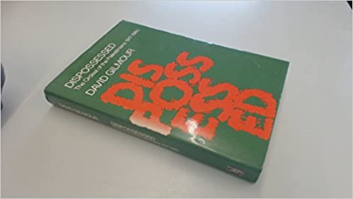 Book The Dispossessed: The Ordeal of the Palestinians, 1917-1980