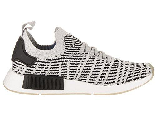 Zapatillas De Running Adidas Hombres Nmd_r1 Stlt Primeknit Originals Gris / Negro