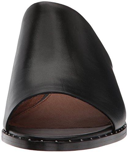 Sandalo Con Tacco Donna Cindy Mule Con Tacco Nero