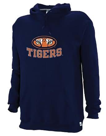 NCAA Auburn Tigers Youth Dri-Power Fleece Pullover Hood (Navy, Small)