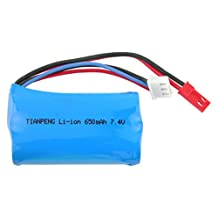 """Replacement 7.4V Li-ion Battery For New Double Horse 9100 """"Hover"""" 3-Channel Sports R/C Helicopter #9100-23"""
