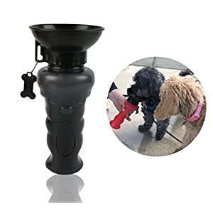 EZ PUP Premium Dog Water Bottle - Easy to Use Travel Auto Water Bottle for Dogs and Puppies, Dog Toys and Accessories - By