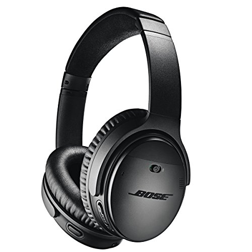 Bose QuietComfort 35 II Wireless Bluetooth Headphones, Noise-Cancelling, with Alexa voice control, enabled with Bose AR - Black (Best Cell Phone On The Market Now)
