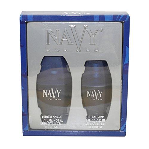Dana Navy Eau de Toilette Spray Gift Set for Men, 1.7 Ounce