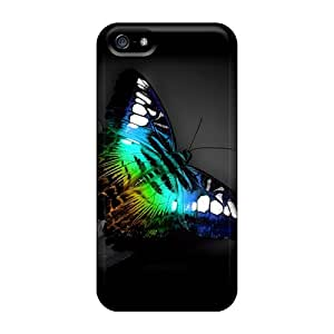Flexible Tpu Back Case Cover For Iphone 5/5s - Butterfly