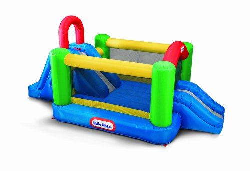 Little Tikes Jump & Double Slide Bouncer