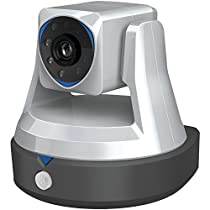 Swann SWADS-446CAM-US Cloud HD Pan and Tilt Wi-Fi Security Camera with Smart Alerts (Black)