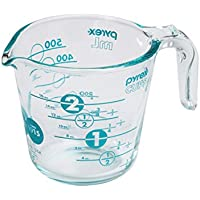 Pyrex 100 Year 2 Cup Anniversary Measuring Cup, Blue