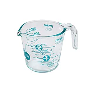 Pyrex 100 2 Cup 100th Anniversary Measuring Cup, Turquoise