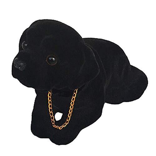Decorative Bobble Head Car Dog Shook Head Puppy Doll Resin Ornaments, J