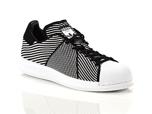 buy popular 20c00 28b95 adidas, Uomo, Superstar Bounce Primeknit, Tessuto Tecnico, Sneakers, Nero   Amazon.it  Scarpe e borse