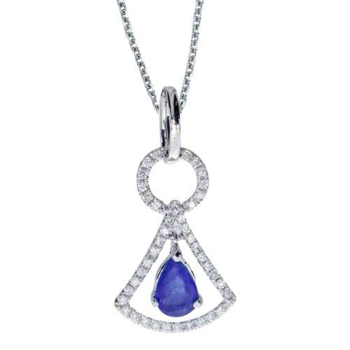 0.60 Ct Pear Diamond - 7