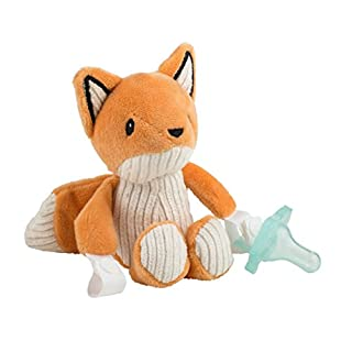 Dr. Brown's Franny The Fox Lovey Pacifier & Teether Holder Orange