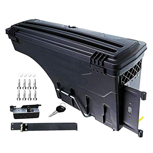 A-Premium Storage Box Case Truck Bed for Dodge Ram 1500 2500 3500 2002-2018 Rear Driver Side