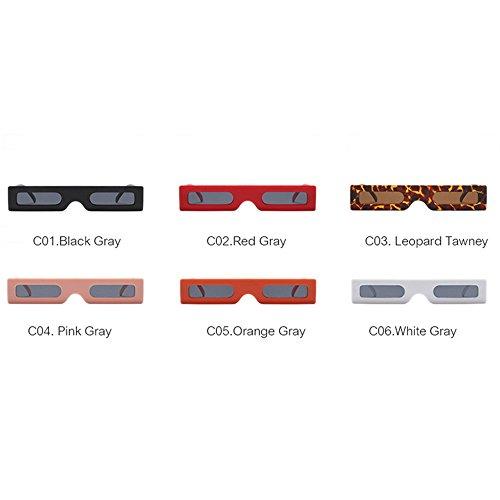 Rose marque Noir Chers Gris Lunettes Fashion Rectangle Rouge Vintage Blanc lunettes 2018 UV400 Rose Lunettes femmes tqvXw0v